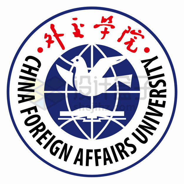 外交学院校徽logo标志png图片素材