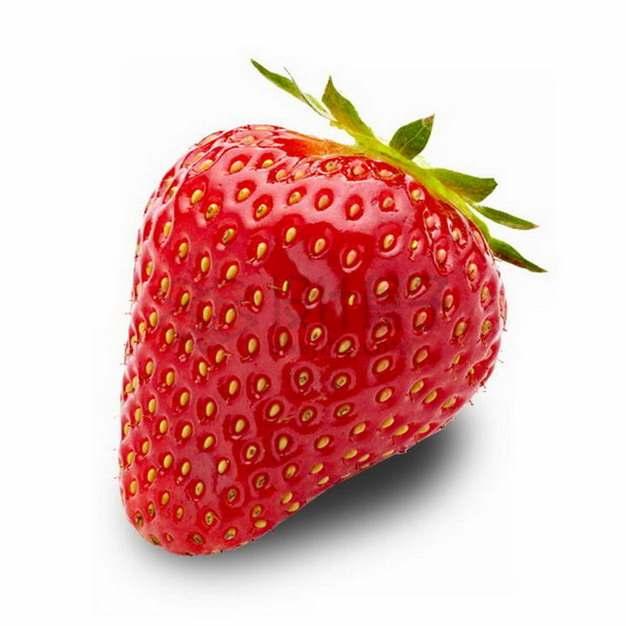 完整的红颜草莓png图片素材