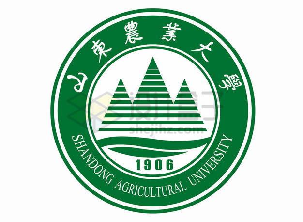 山东农业大学校徽logo标志png图片素材
