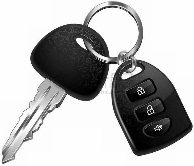 一把汽车钥匙png图片素材