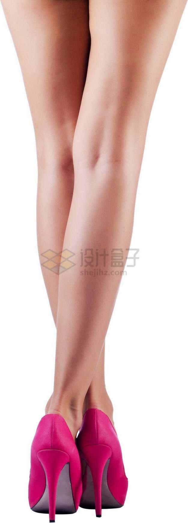 粉色高跟鞋美腿3765821png免抠图片素材