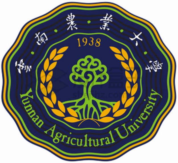 云南农业大学校徽logo标志png图片素材
