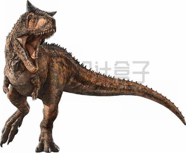 凶猛的霸王龙暴龙恐龙复原图png图片素材