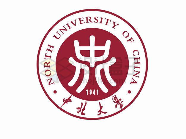 中北大学校徽logo标志png图片素材