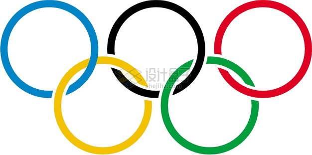 奥运五环奥运会标志logopng图片素材