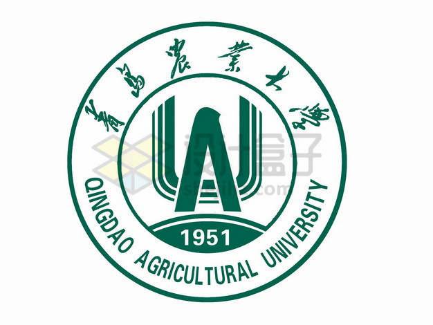 青岛农业大学校徽logo标志png图片素材