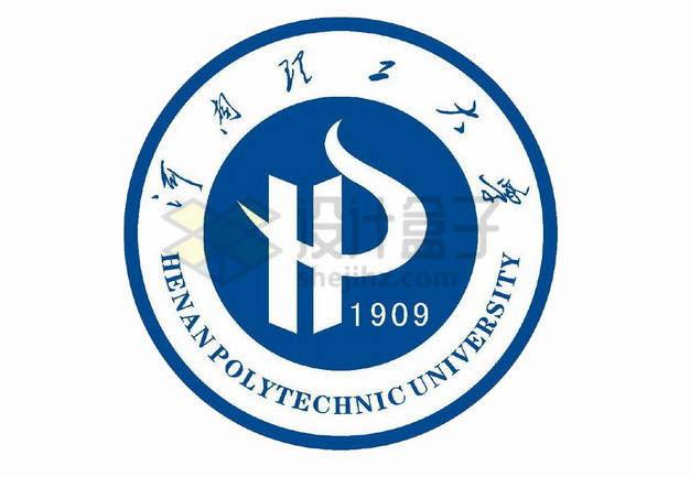 河南理工大学校徽logo标志png图片素材