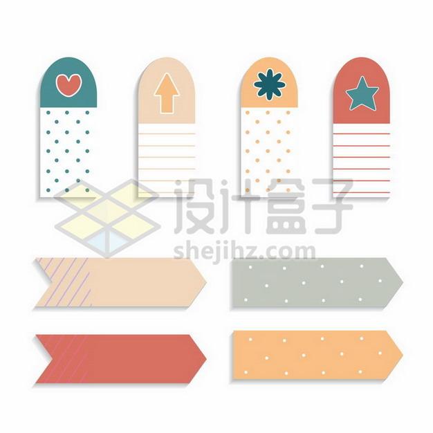 各种孟菲斯风格糖果色标签4343789png图片素材 装饰素材-第1张