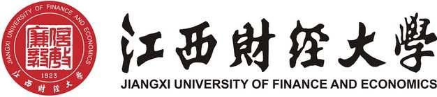 横版带校名文字江西财经大学校徽logo标志png图片素材