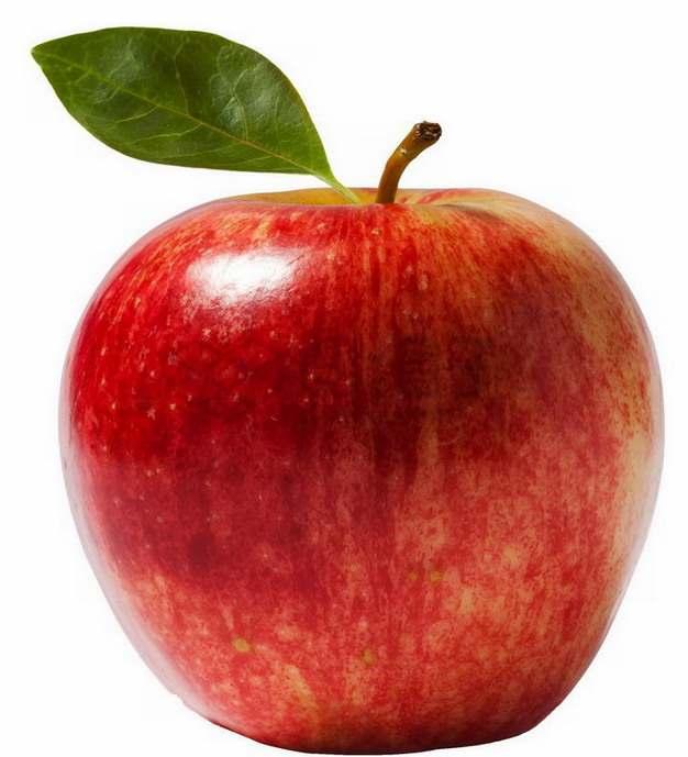 完整的红富士苹果嘎啦苹果咖喱果png图片素材