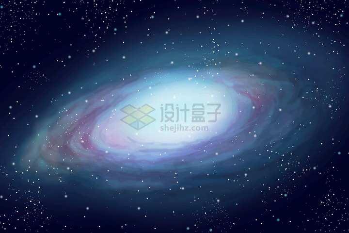 银河系星系背景图png图片素材