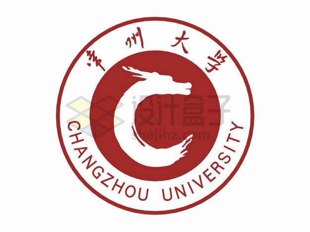 常州大学校徽logo标志png图片素材