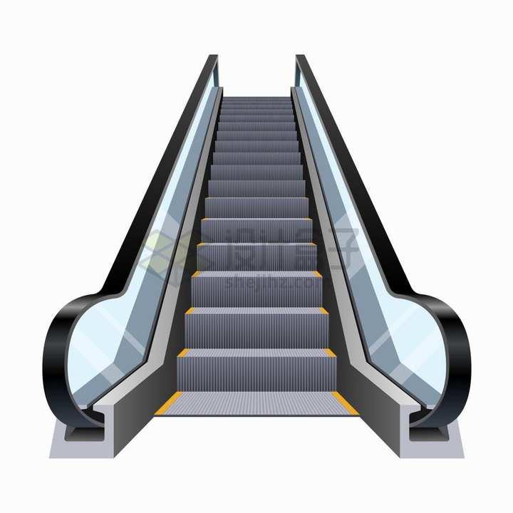 逼真的手扶电梯自动电梯png图片素材