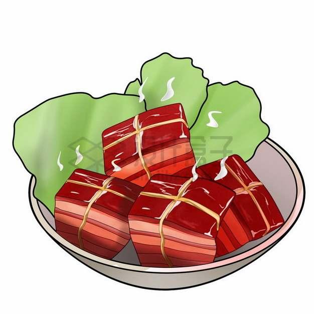 一碗美味的红烧肉578323png免抠图片素材