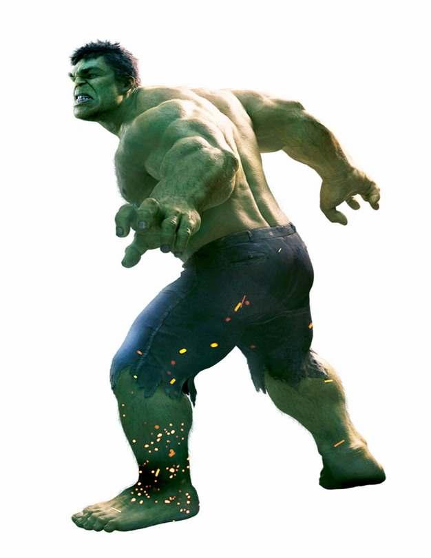 电影中的绿巨人无敌浩克280443png免抠图片素材