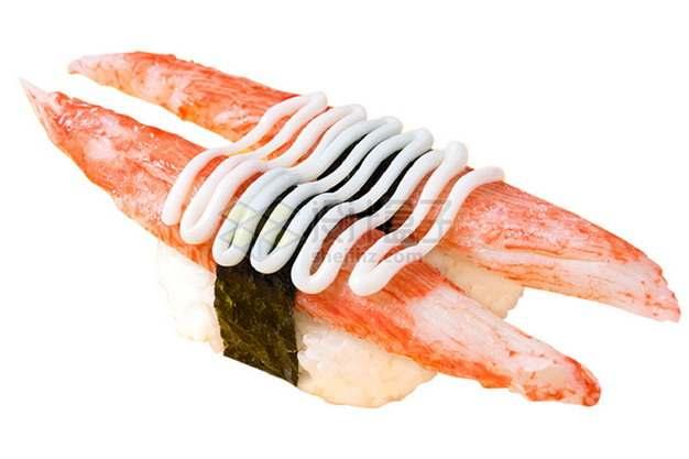 帝王蟹柳寿司日式料理png图片素材
