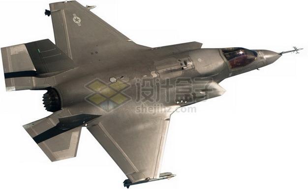 F-35B肥电战斗机顶视图png免抠图片素材 军事科幻-第1张