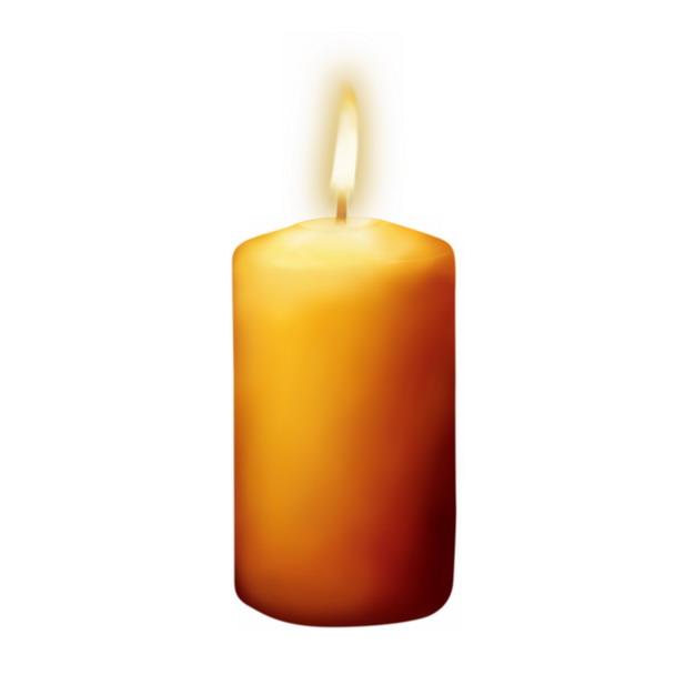 黄色的蜡烛1700861png图片素材