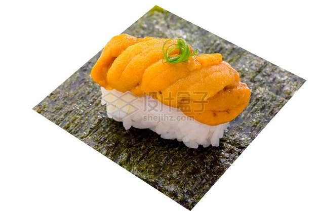 海胆寿司饭日式料理989940png图片素材