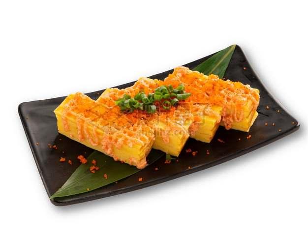 明太子玉子烧日式料理png图片素材