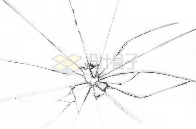 玻璃破碎裂纹裂缝碎片7650943png图片素材