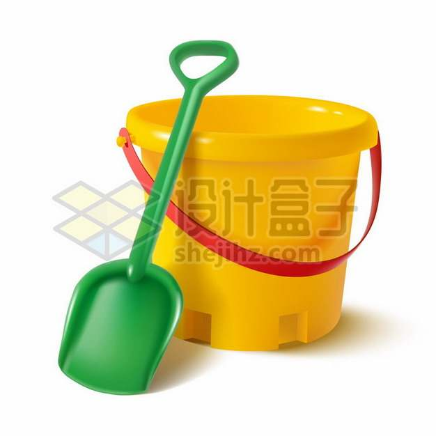 铲子和水桶儿童塑料玩具沙滩玩具261658 png图片素材