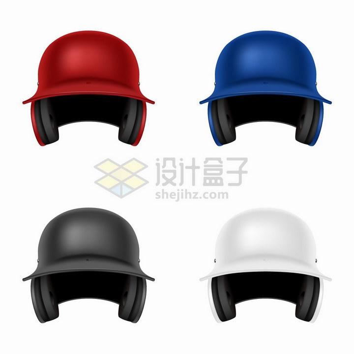4款摩托车电动车头盔png图片免抠矢量素材 生活素材-第1张