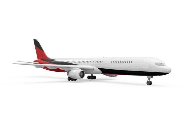 波音787/777飞机大型客机侧视图png免抠图片素材