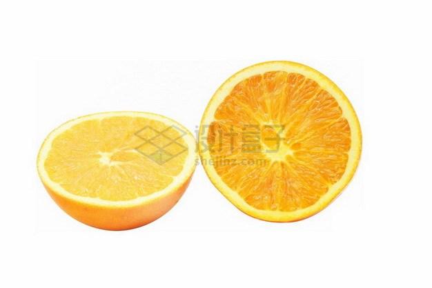 切开的橙子489023png免抠图片素材 生活素材-第1张