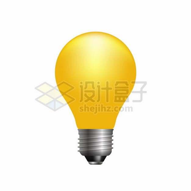 高清黄色电灯泡826126png图片素材