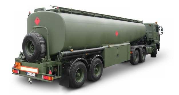 军绿色槽罐车油罐车危险品运输卡车651533png图片素材