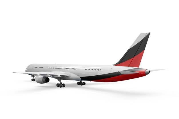 波音787/777飞机大型客机后视图png免抠图片素材