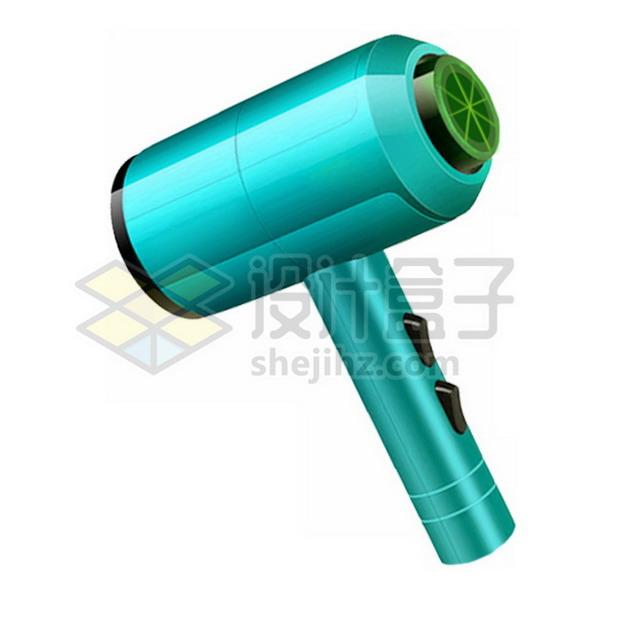 绿色的电吹风png图片素材817525
