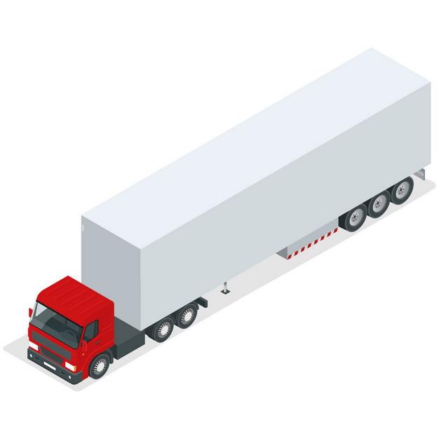 集装箱卡车920798png图片素材 交通运输-第1张