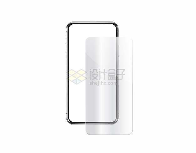 手机贴膜钢化膜939363png图片素材