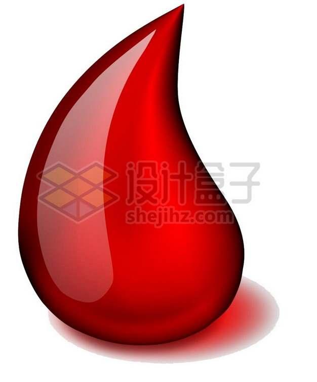 晶莹透亮的液滴血液无偿献血一滴血764185png图片素材