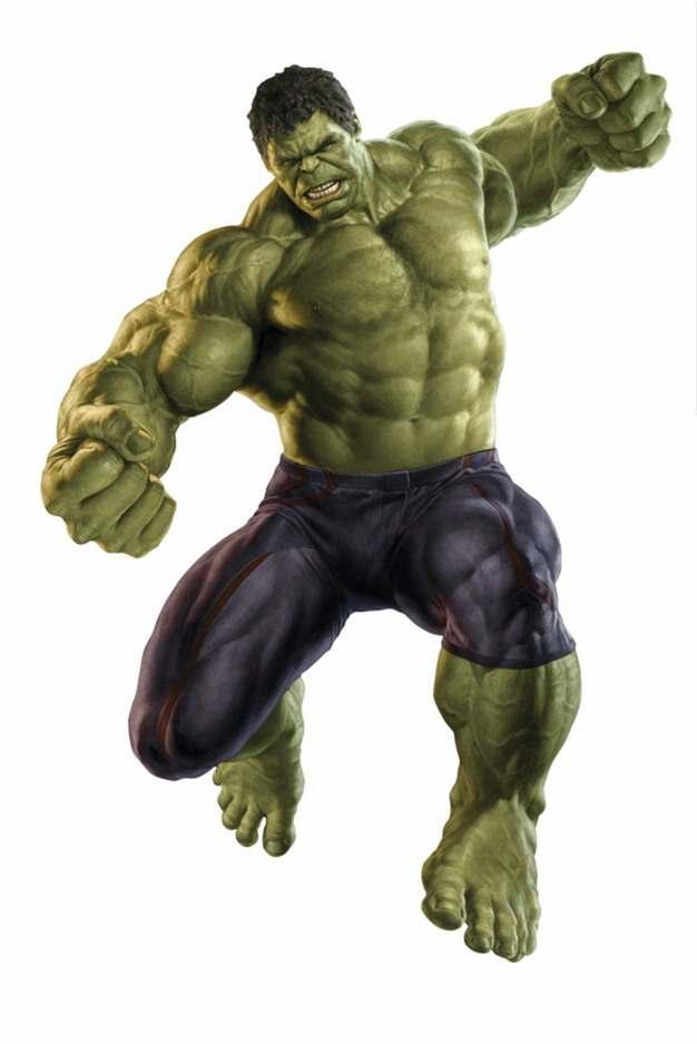 跳起来攻击的绿巨人无敌浩克156712png免抠图片素材
