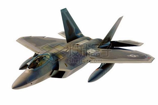 F22猛禽战斗机324657png免抠图片素材 军事科幻-第1张