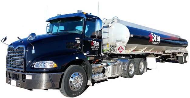 蓝色槽罐车油罐车危险品运输卡车461205png图片素材