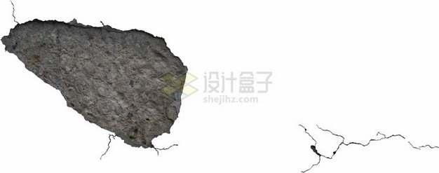 墙壁墙皮干裂脱落裂缝图案1676743png图片素材