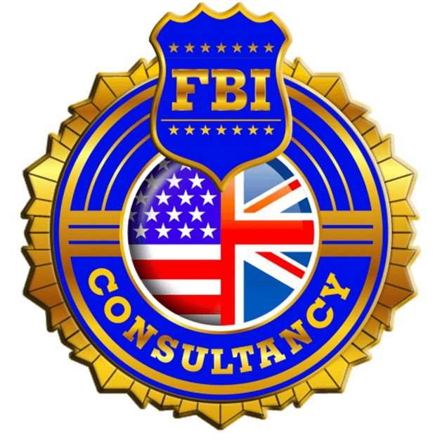 美国联邦调查局FBI logo徽章勋章png图片素材