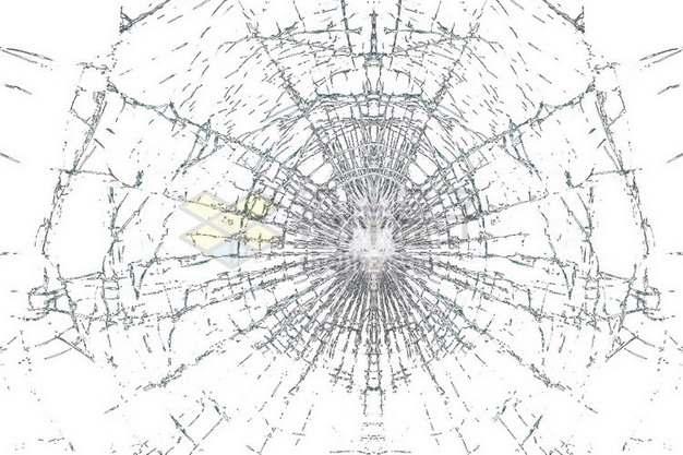 玻璃破碎裂纹裂缝654348png图片素材