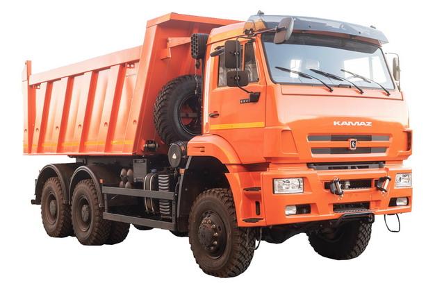 橙色的渣土车自卸卡车330332png图片素材 交通运输-第1张