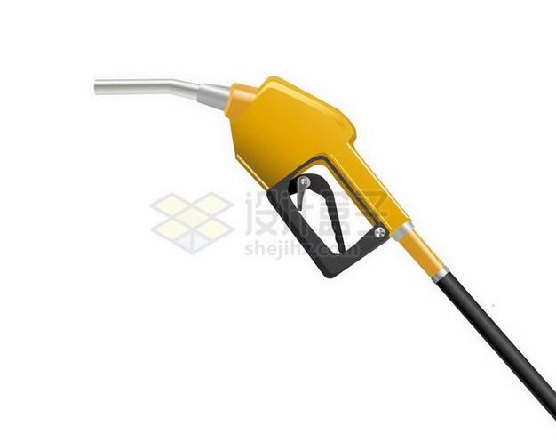加油站的黄色加油枪png图片免抠矢量素材 工业农业-第1张