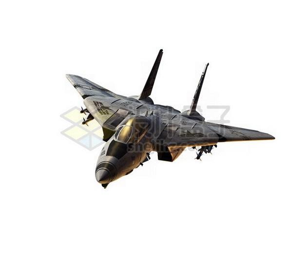 F14雄猫战斗机舰载机png免抠图片素材 军事科幻-第1张