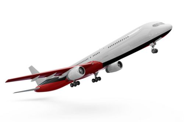 起飞的波音787/777飞机大型客机png免抠图片素材