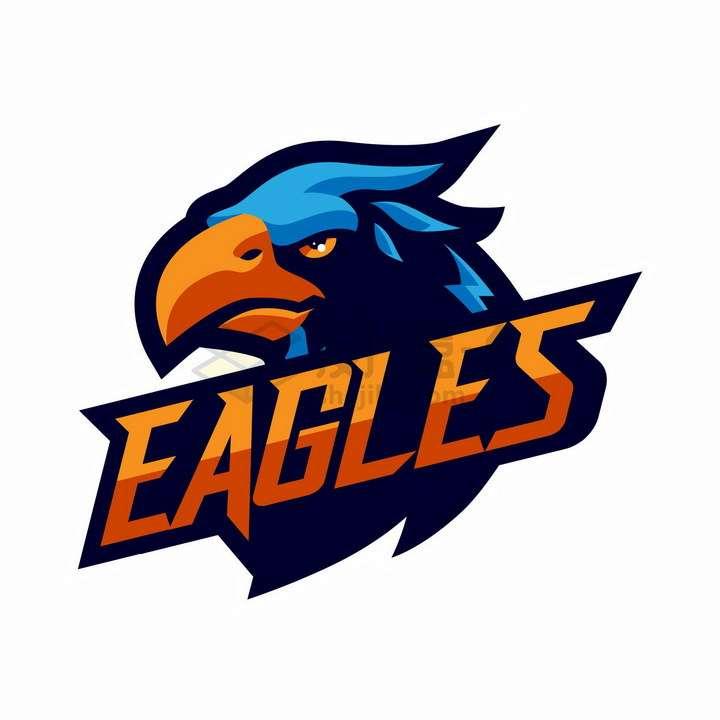 冷静的老鹰logo设计png图片免抠矢量素材
