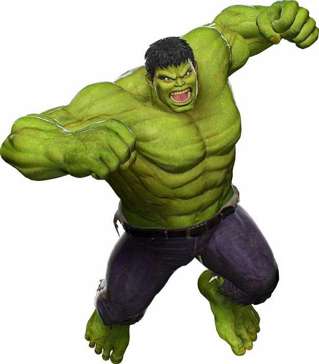 绿巨人无敌浩克123234png免抠图片素材