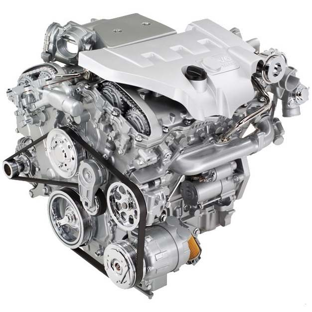 银灰色的汽车发动机5002052png图片素材