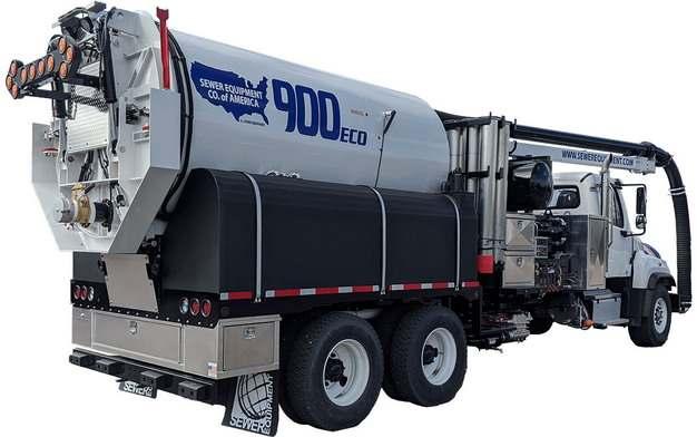 槽罐车油罐车危险品运输卡车特种运输车后视图723882png图片素材